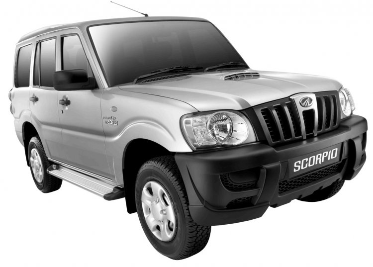 Mahindra Scorpio EX press image