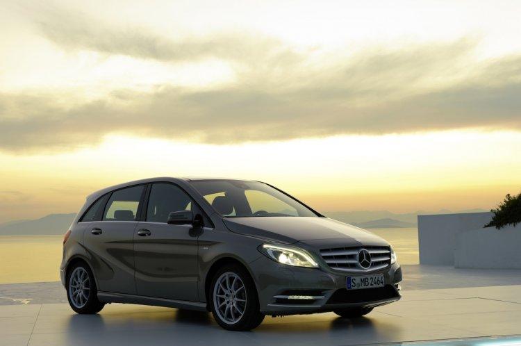 Mercedes B Class 1 million sales