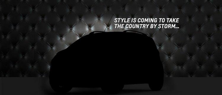 Chevrolet Beat facelift teaser image India