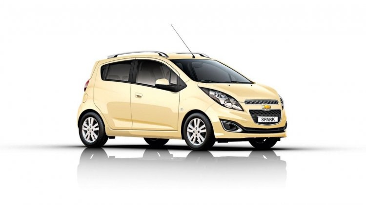 Chevrolet Spark facelift Europe press image