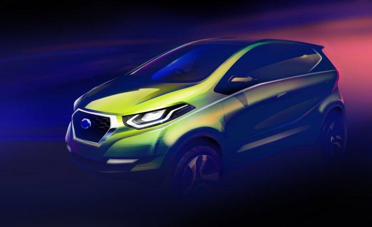 Datsun I2 Concept teaser sketch