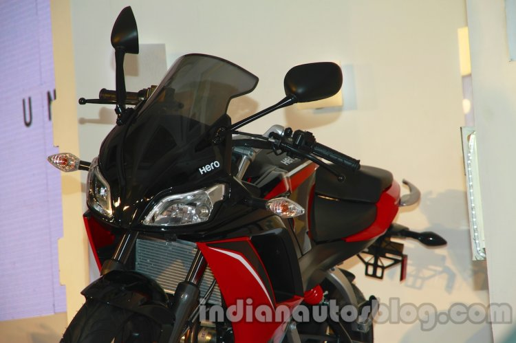 Hero HX250R split headlamps