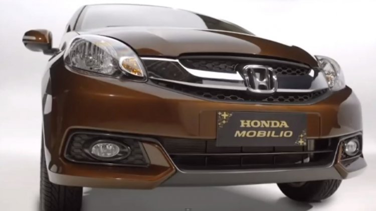 Honda Mobilio MPV screen grab presentation video