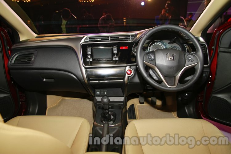 New Honda City diesel dashboard from the launch