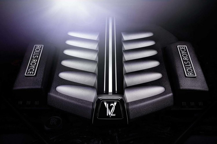 Rolls Royce Ghost V-Specification engine