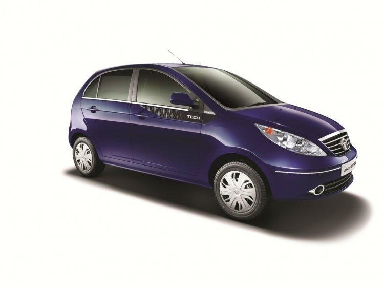 Tata Vista VX Tech Chill Blue exterior colour