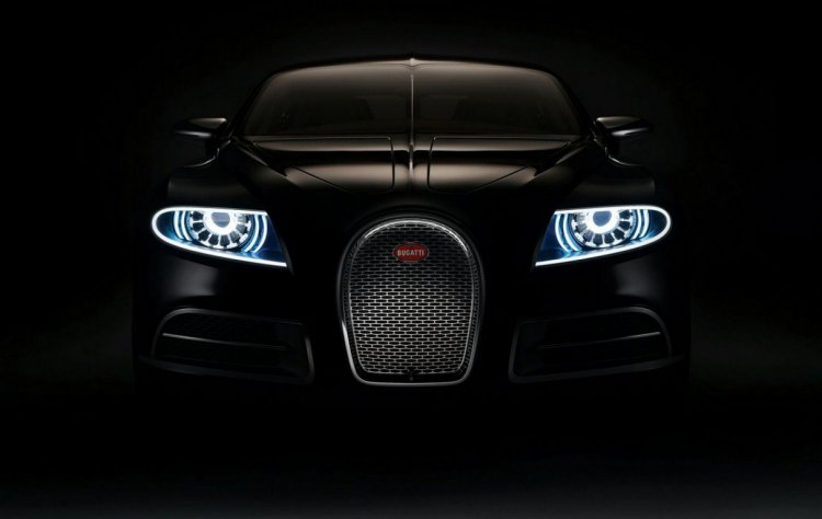 Bugatti Galibier front press shot