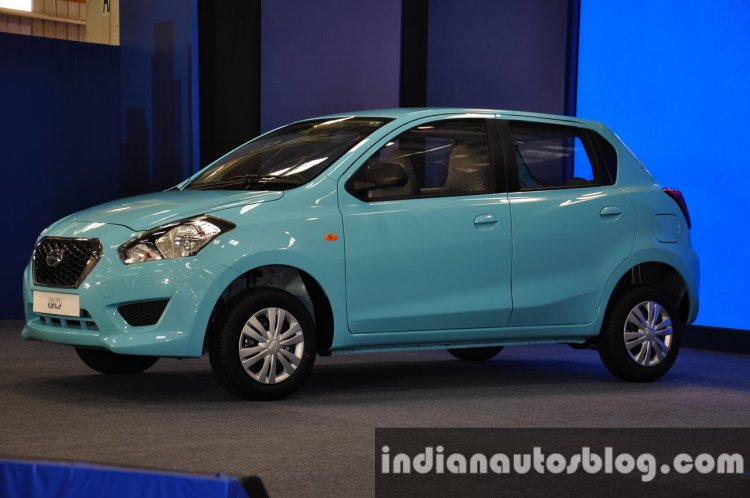 Datsun Go first car rollout from Chennai
