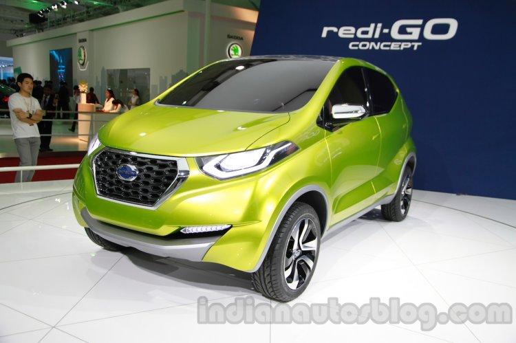 Datsun Redi-Go at Auto Expo 2014