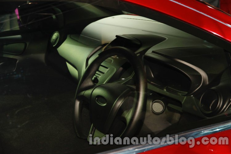 Ford Figo Concept Sedan Launch Images interior