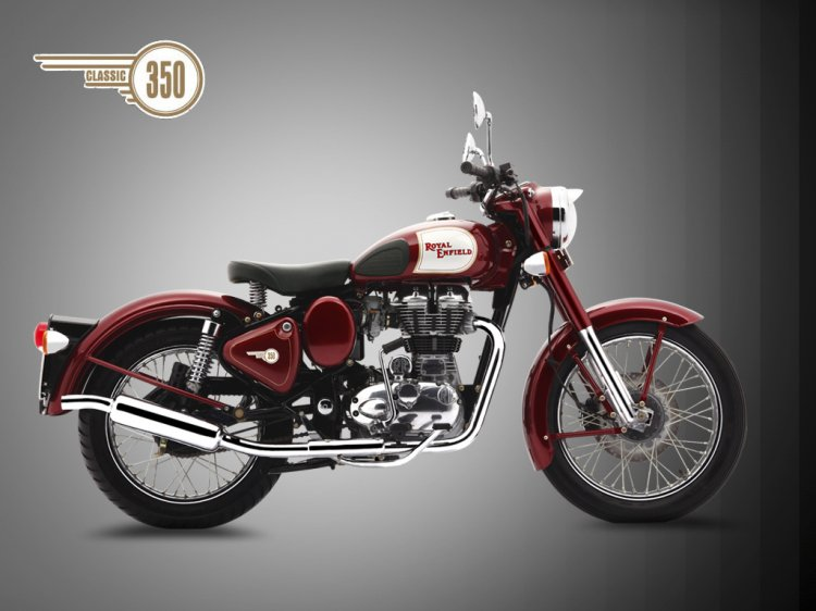 Royal Enfield Classic 350 Side press
