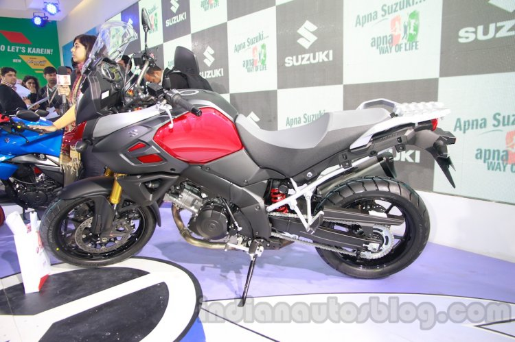Suzuki V-Strom 1000 ABS at 2014 Auto Expo