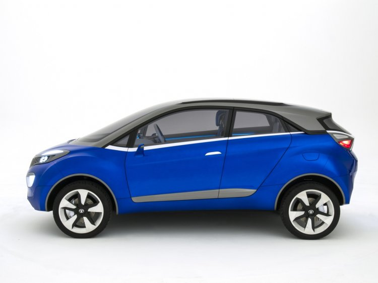 Tata Nexon Concept side official image