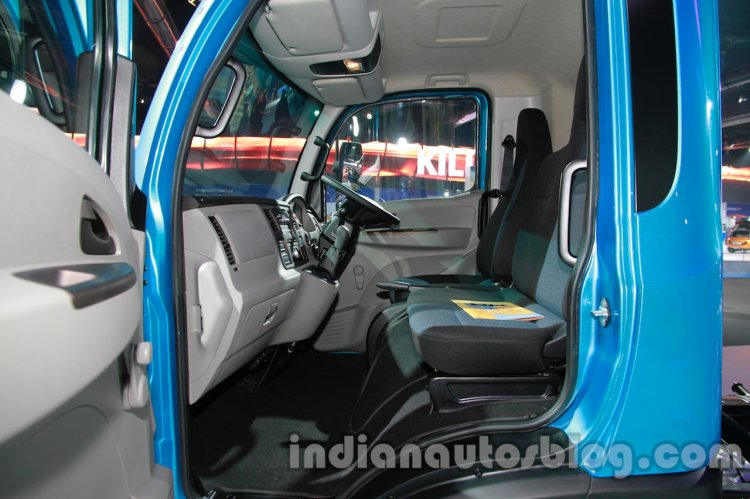 Tata Ultra 614 cab view at Auto Expo 2014