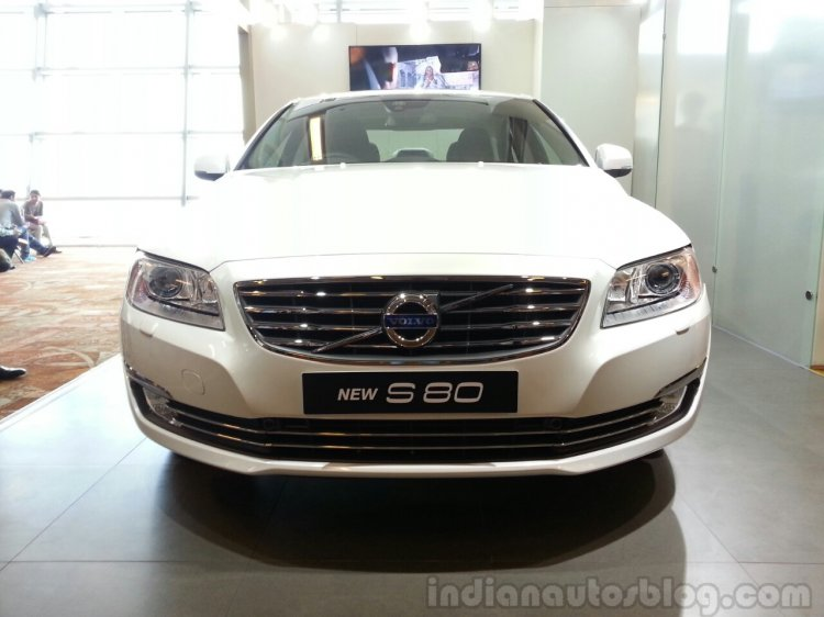 2014 Volvo S80 India launch live front