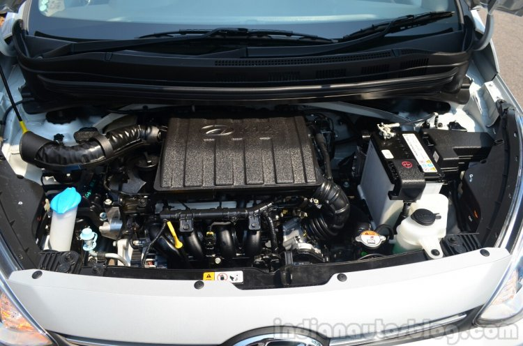 Hyundai Xcent Review petrol engine
