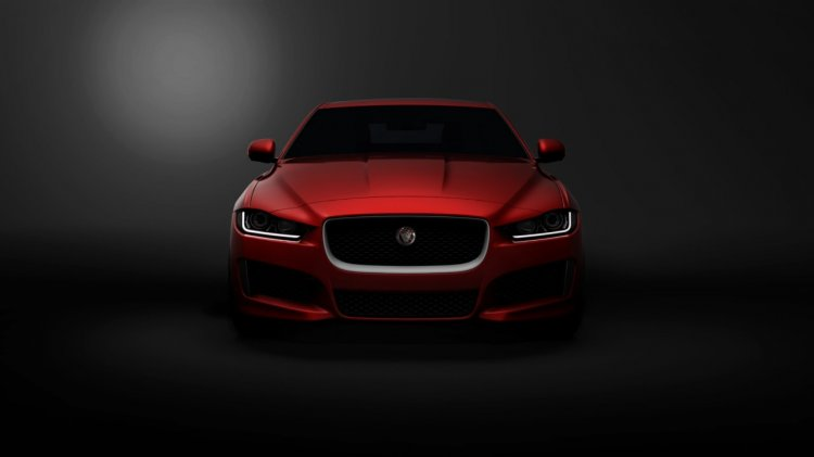Jaguar XE front press shot
