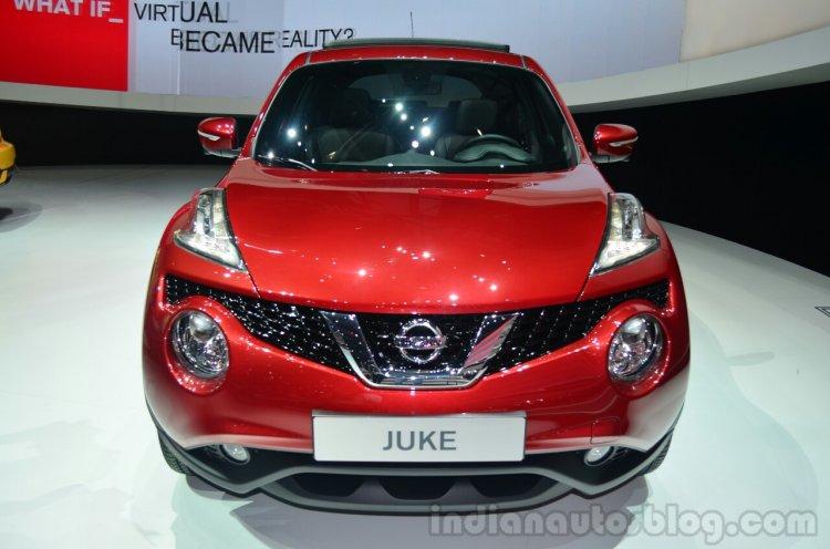 New Nissan Juke grille - Geneva Live