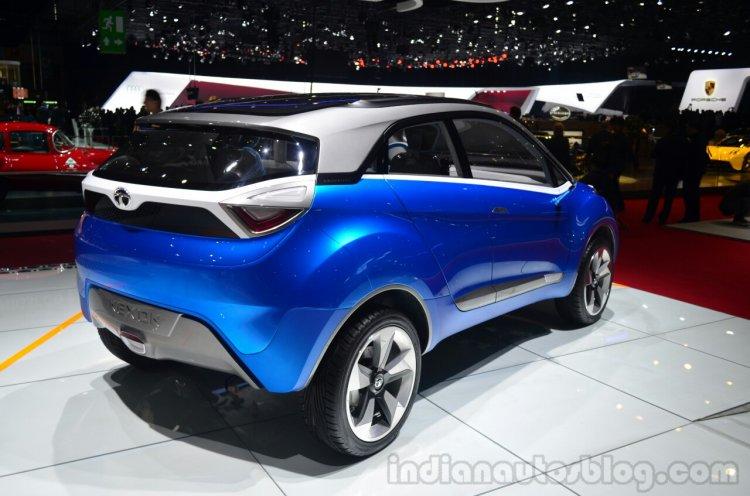 Tata Nexon Concept rear three quarters at Geneva