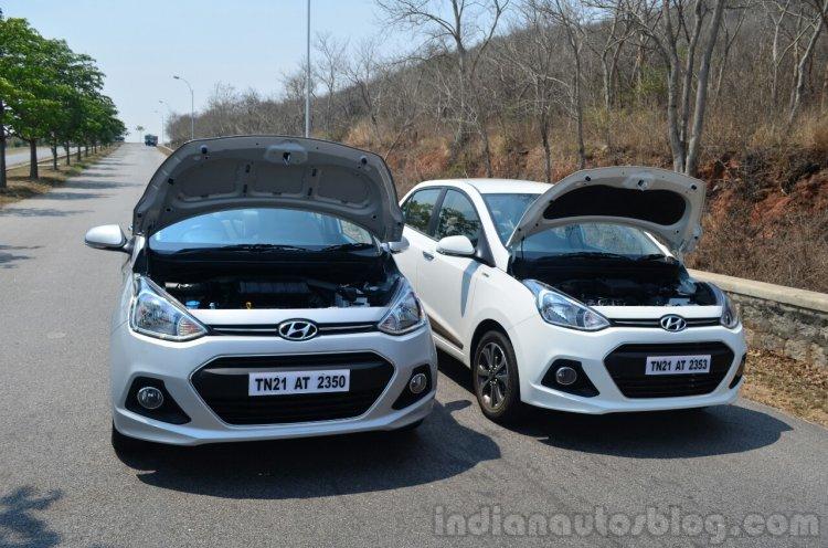 Hyundai Xcent Review petrol vs diesel