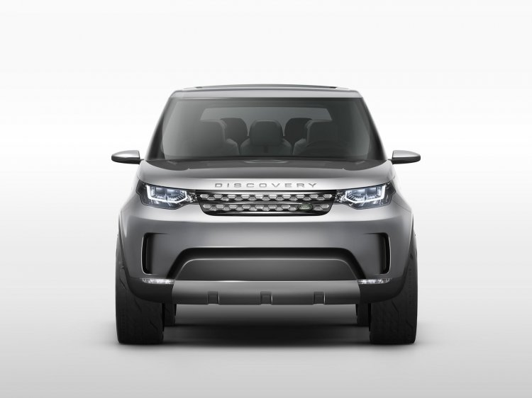 Land Rover Discovery Vision Concept press shot front