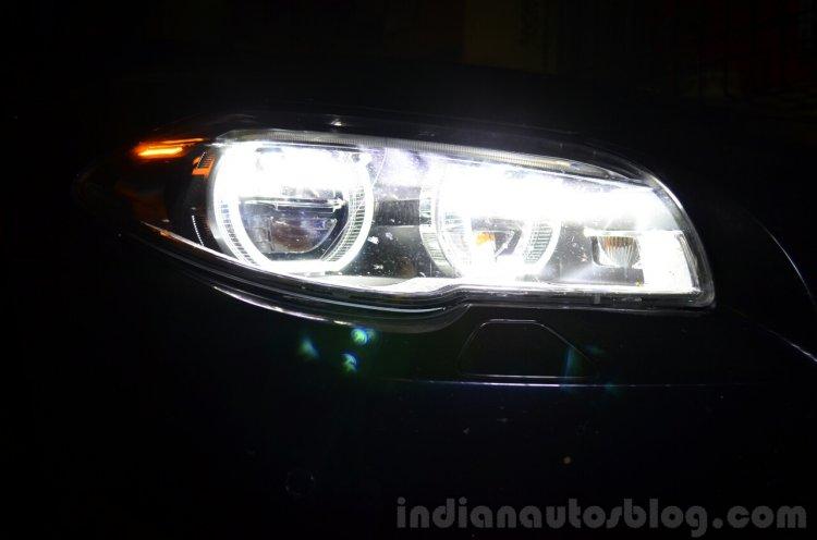 2014 BMW 530d M Sport Review LED lights
