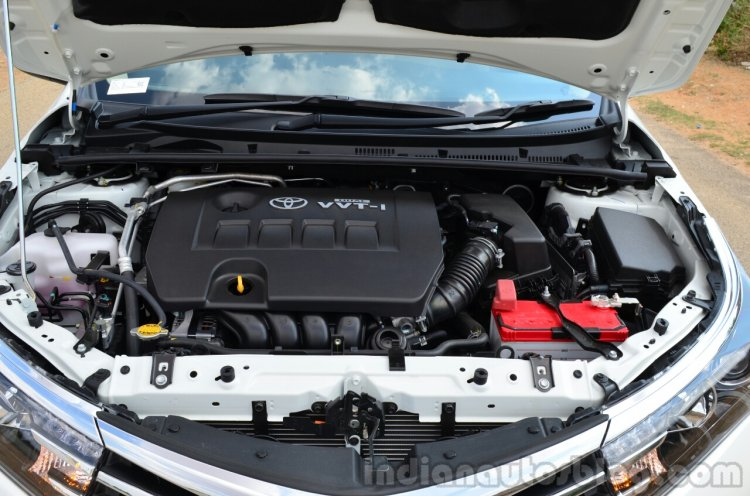 2014 Toyota Corolla Altis Petrol Review engine
