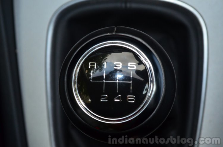 Audi Q3S Review gearlever