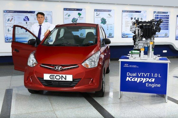 Hyundai Eon 1.0-liter launched image
