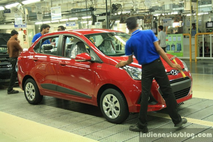 Hyundai India Chennai factory pre-delivery inspection