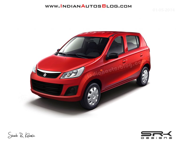 Maruti Alto 800 facelift IAB rendering revised