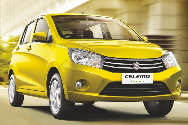 Maruti Celerio CNG front view brochure scan