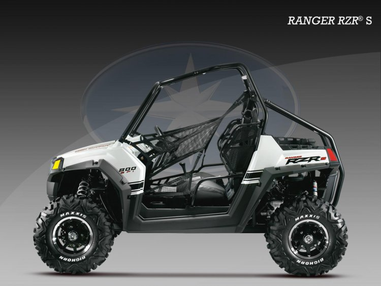 Polaris Ranger side press shot