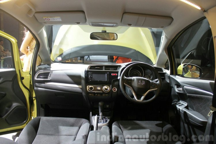 2014 Honda Jazz Indonesia launch dashboard