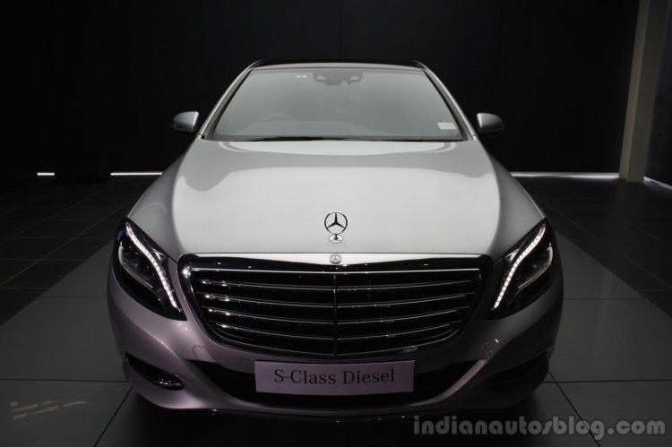 2014 Mercedes-Benz S Class S350 diesel launch front fascia