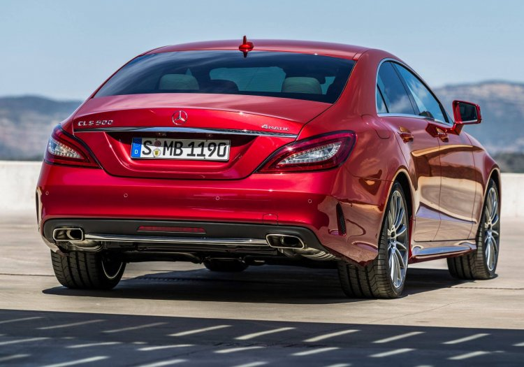 2015 Mercedes CLS Class rear official image