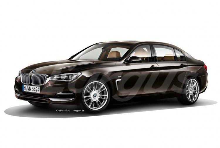 BMW 7-Series rendering