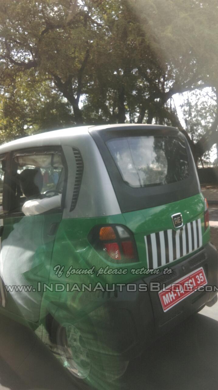 IAB spied Bajaj RE60 rear