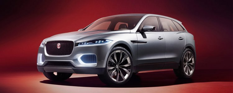 Jaguar C-X17 grey studio image