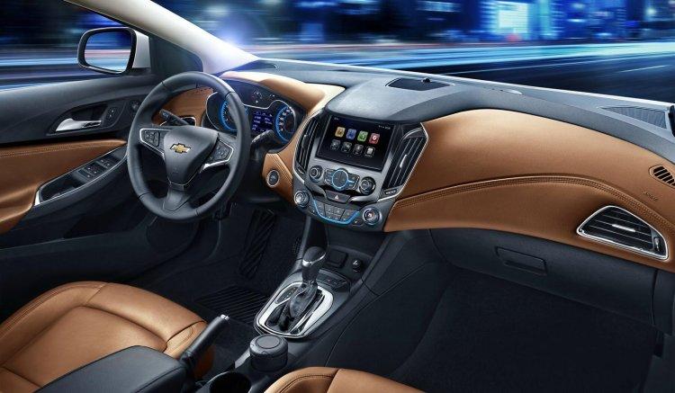 Next generation Chevrolet Cruze interior press shot