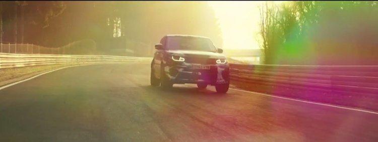 Range Rover Sport RS teased video