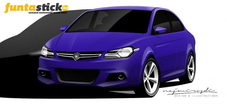 next gen Proton Saga 3 rendering