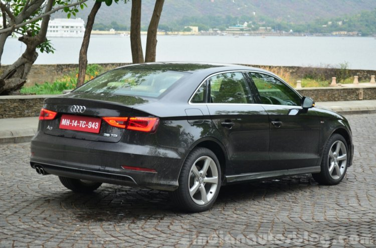 Audi A3 Sedan Review rear quarter angle