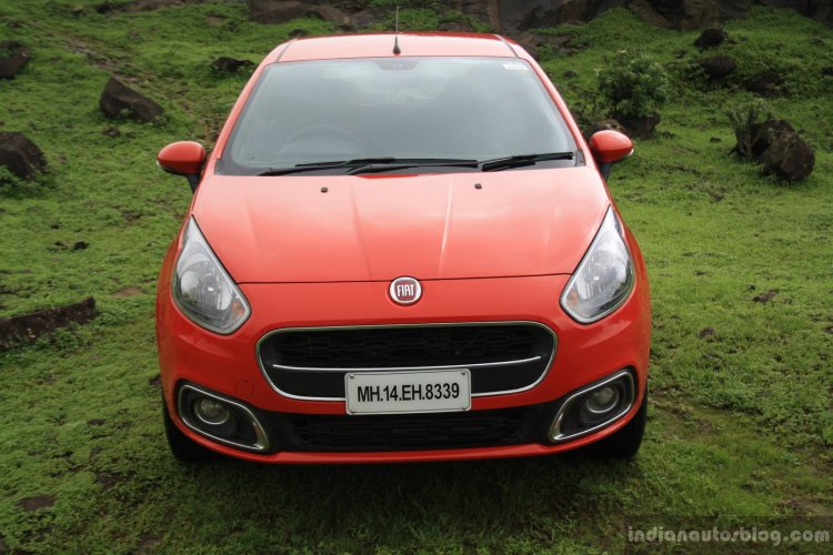 Fiat Punto Evo Sport 90 HP diesel review front