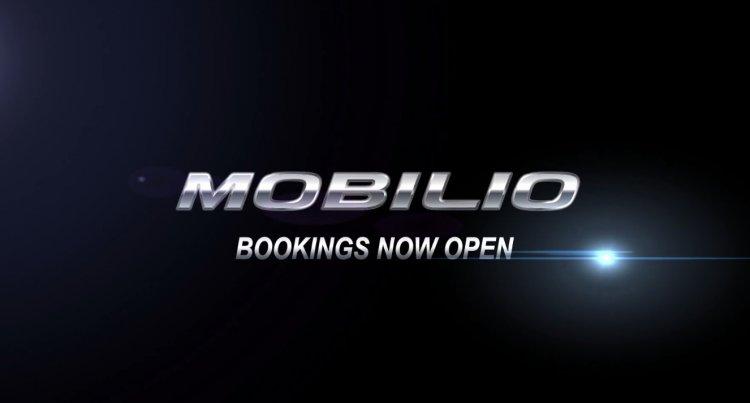 Honda Mobilio bookings open