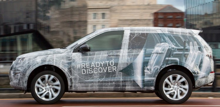 Land Rover Discovery Sport camouflage