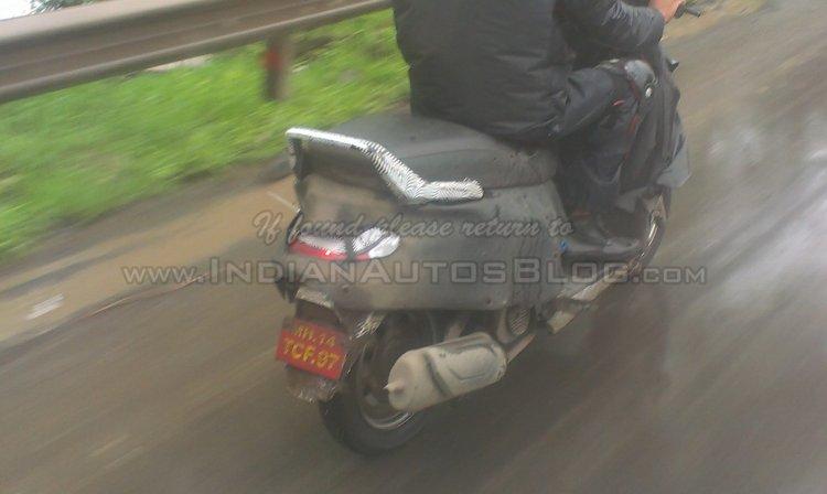 Mahindra G101 Scooter IAB spyshot