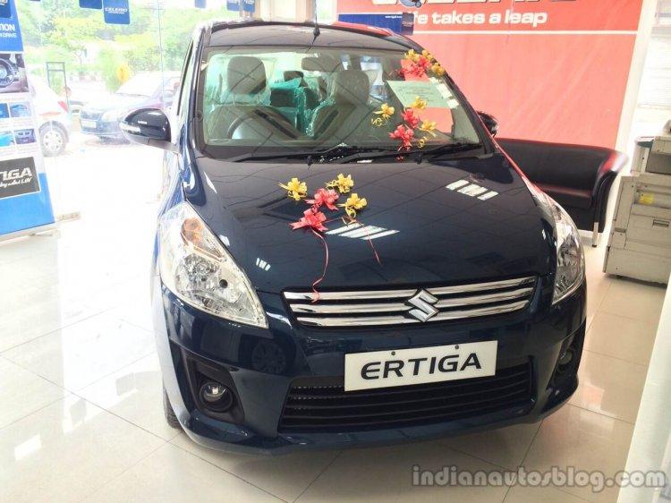 Maruti Ertiga Limited Edition live image front