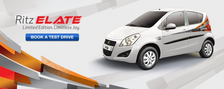 Maruti Ritz Elate edition press shots