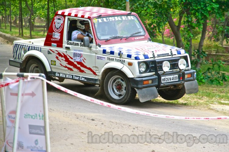 Speed Sprint 2014 Maruti Gypsy Number 028